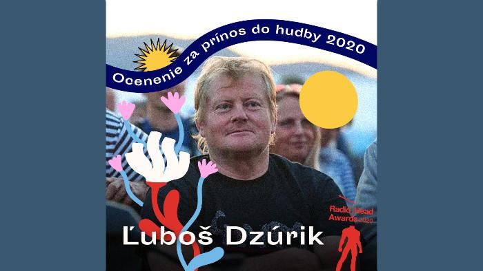 Ocenenie za prínos do hudby 2020 získal Ľuboš Dzúrik