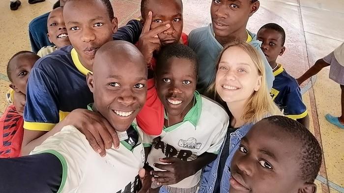 Úspech Slovenky Moniky: Za dobrovoľnícku prácu dostala cenu
