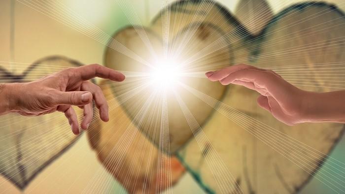 Zamyslenie / Boh je láska