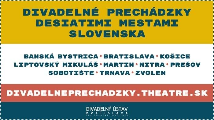 Online-App für Theater-Spaziergänge durch die Slowakei