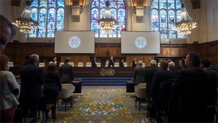 Des Slovaques déposent plainte auprès de la Cour pénale internationale de La Haye