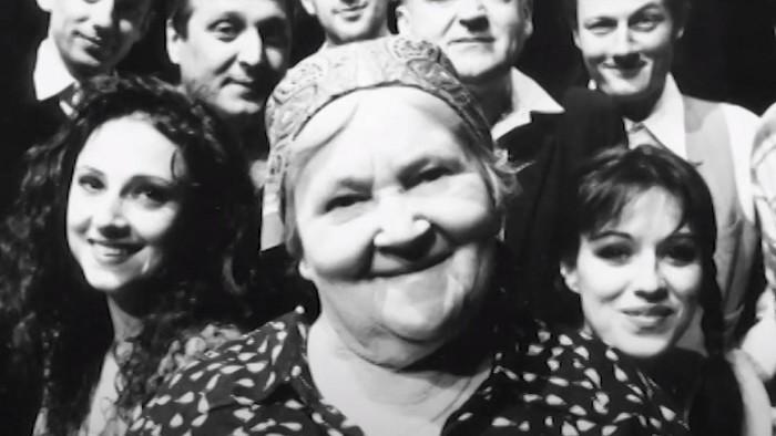 Katarína Kolníková. Publikum ju milovalo, stala sa legendou
