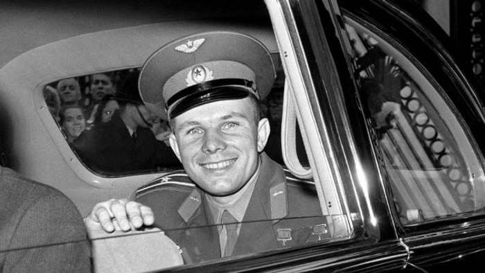 """Good day, Major Gagarin!"""