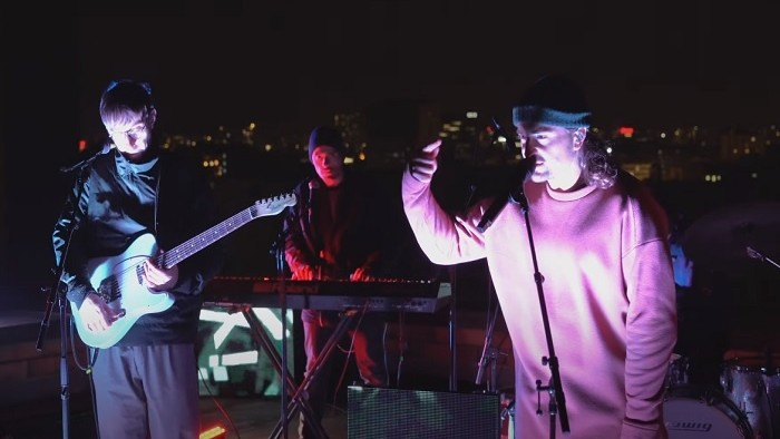 Kapela Billy Barman vystúpila na streche Slovenského rozhlasu