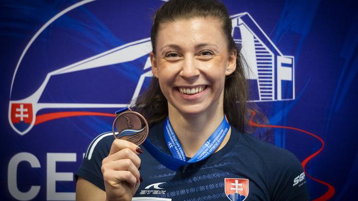 Gymnastka Barbora Mokošová pred ME