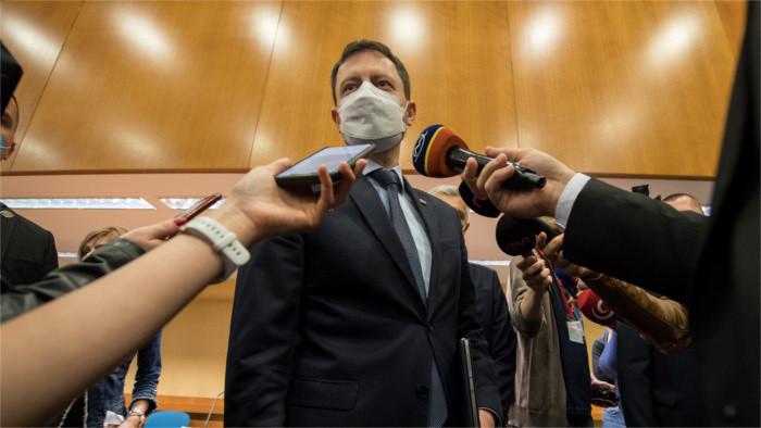 Conseil de sécurité slovaque suite à l'expulsion de Russes par Prague