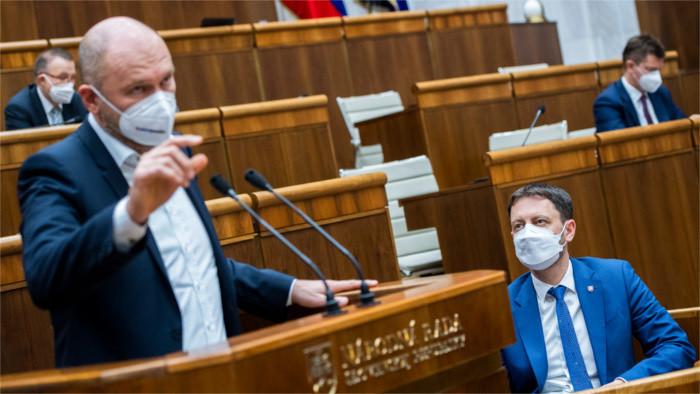 Programové vyhlásenie vlády v parlamente