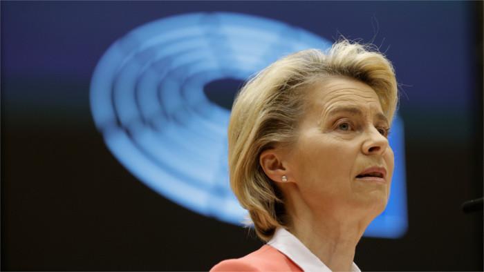 Ursula von der Leyen à Bratislava