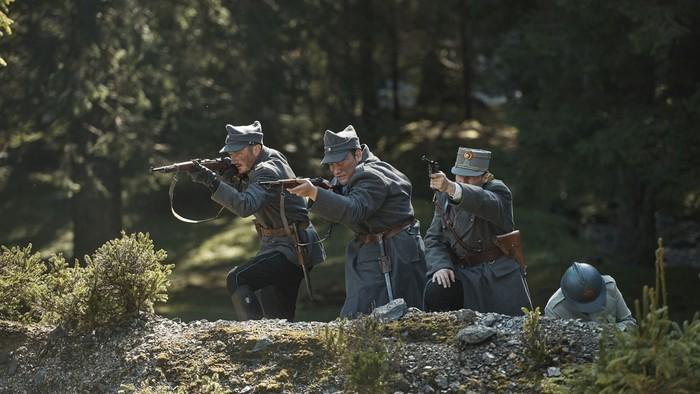 Rota Nazdar ide do boja. Veľký príbeh československých légií