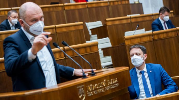 Депутаты обсуждают Программное заявление правительства Э. Хегера