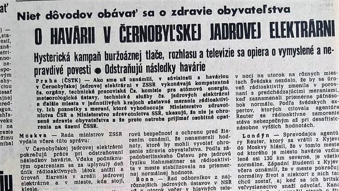 Prečo po nežnej revolúcii trestne stíhali československé komunistické špičky v prípade Černobyl?