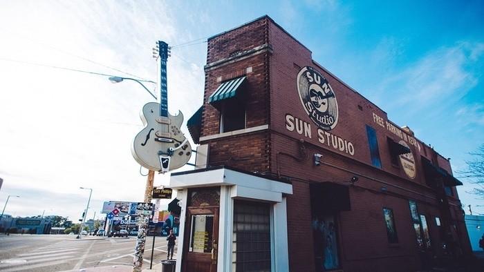 Nahrávacie štúdiá: Sun Studio Memphis