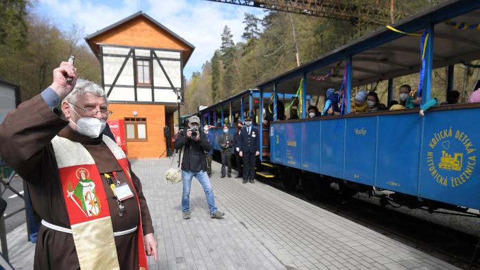 Otvorenie sezóny na Detskej železnici v Košiciach