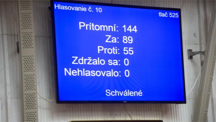 Le gouvernement Heger a la confiance du parlement