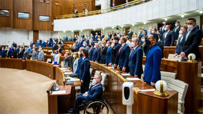 Депутаты поддержали Программное заявление правительства Хегера