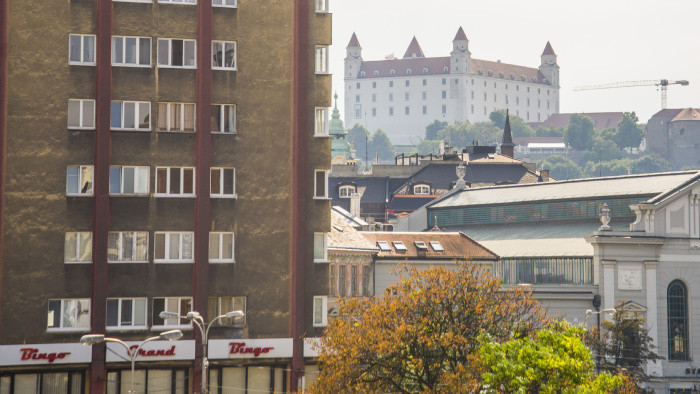 Pred 86 rokmi postavili v Bratislave prvý mrakodrap