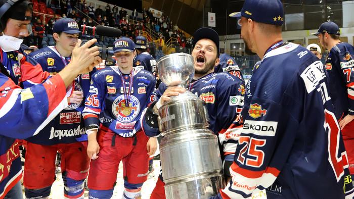 Hokej: Zvolen získal tretí majstrovský titul v histórii