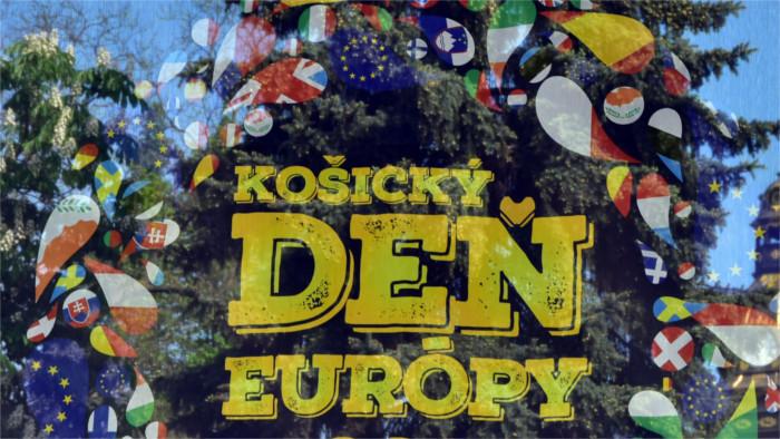 Eslovaquia celebra Día de Europa