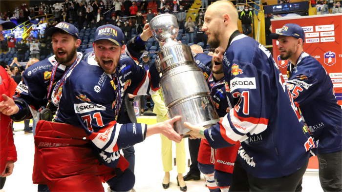 Zvolen is Slovak ice hockey champion
