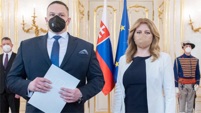 Nombran al nuevo director de los Servicios de Inteligencia Eslovacos