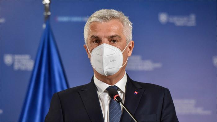 El jefe de la Diplomacia eslovaca, Ivan Korčok, de visita oficial en Italia