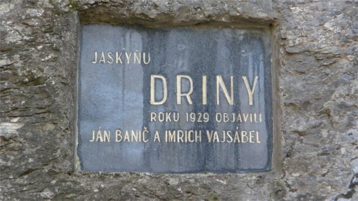 Jaskyňa Driny – les presentamos la cueva de Driny