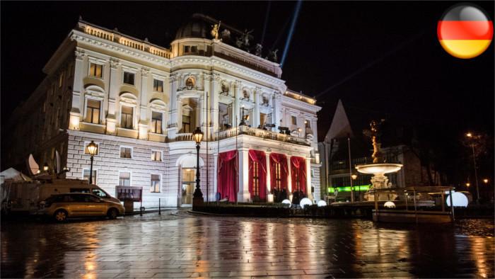 Historisches Gebäude des Nationaltheaters wegen Sanierungsbedarfs geschlossen