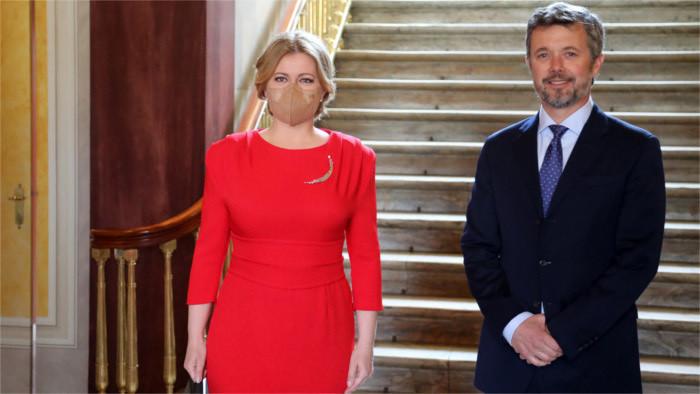La Présidente de la République au Danemark