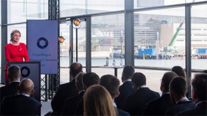 Президент Чапутова: Дания – источник вдохновения для Словакии