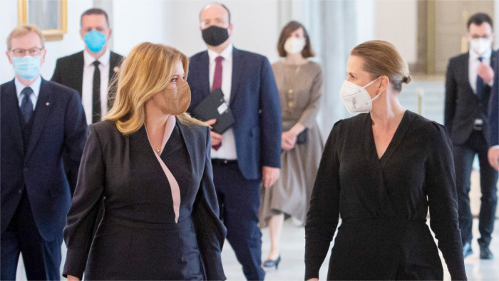 Visite officielle de la Présidente de la République slovaque au Danemark
