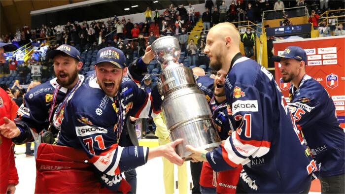 Победителями чемпионата Словакии стали хоккеисты Зволена!
