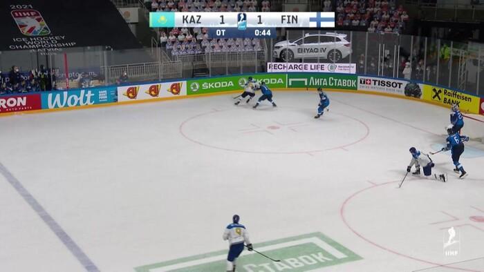 Kazachstan - Fínsko