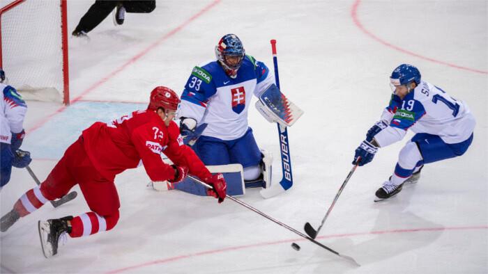 Slovakia beats Russia 3-1 at the Ice Hockey World Championships