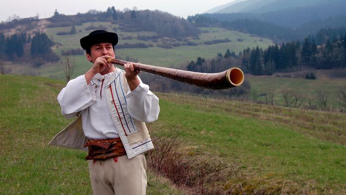 Ľudové nástroje a ich výrobcovia - trombita