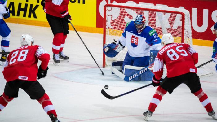 Slovakia with first loss at ice hockey championship
