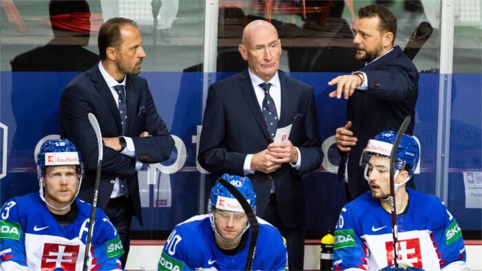 Тренер словацкой сборной Г. Рамси: мы должны остаться единой хоккейной дружиной!