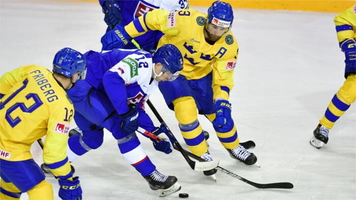 MS ľadový hokej: Slovensko podľahlo Švédsku