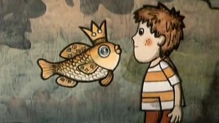 O Peťovi a zlatej rybke