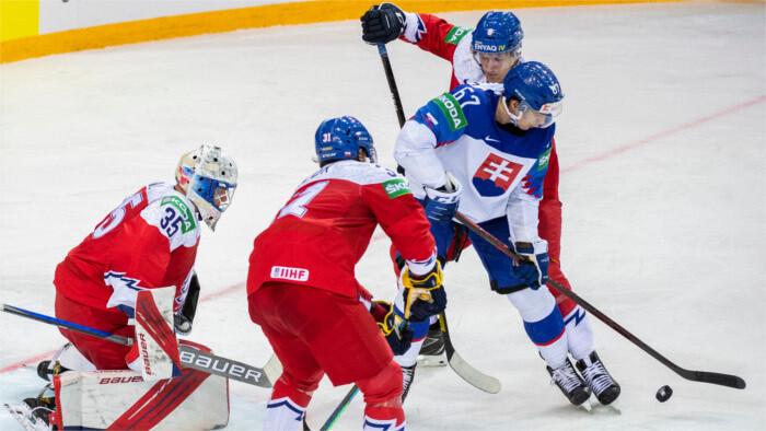 MS ľadový hokej: Slovensko podľahlo Česku