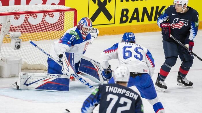 Slovensko končí vo štvrťfinále. Hráči USA nám strelili 6 gólov