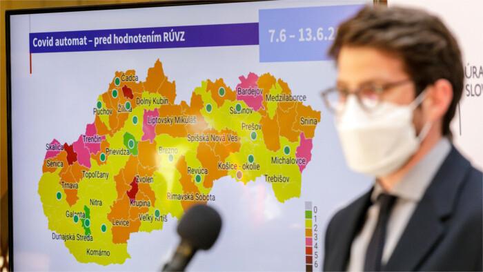 Словакия должна стать страной с умеренным риском заражения
