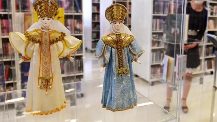 Выставка старинных русских кукол в Кошице