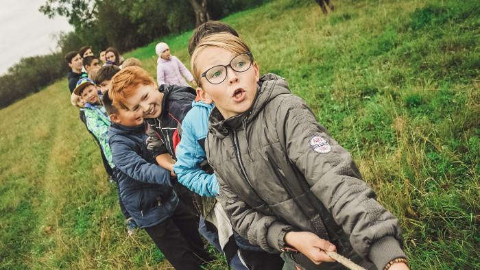 Deti na stope pokladu sitnianskych rytierov