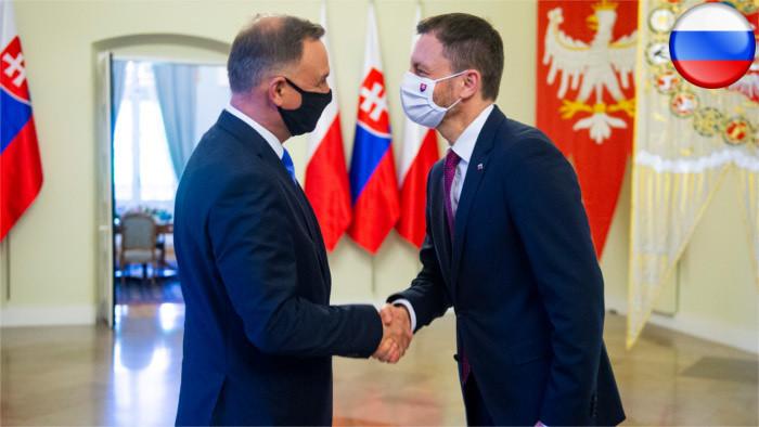Премьер Э. Хегер в Польше