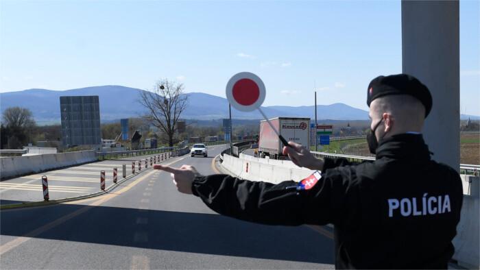 Entrée simplifiée en Slovaquie depuis les pays verts voisins
