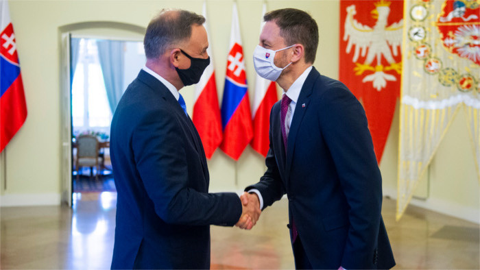 Premier Heger auf Staatsbesuch in Polen