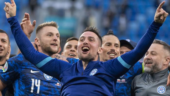 Futbal: Poľsko - Slovensko 1:2