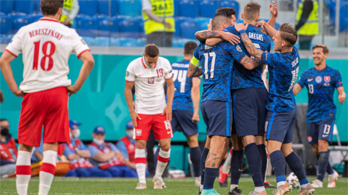 Slovakia defeat Poland 2-1 in first match at UEFA EURO
