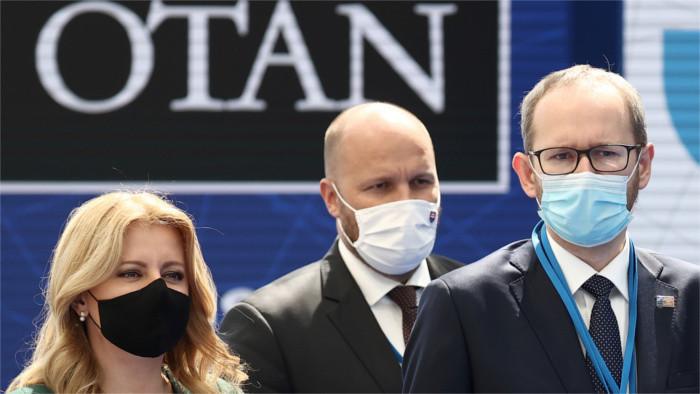 Čaputová y Biden se encuentran por primera vez en Bruselas