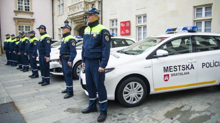 Nové školiace centrum mestských policajtov v Bratislave
